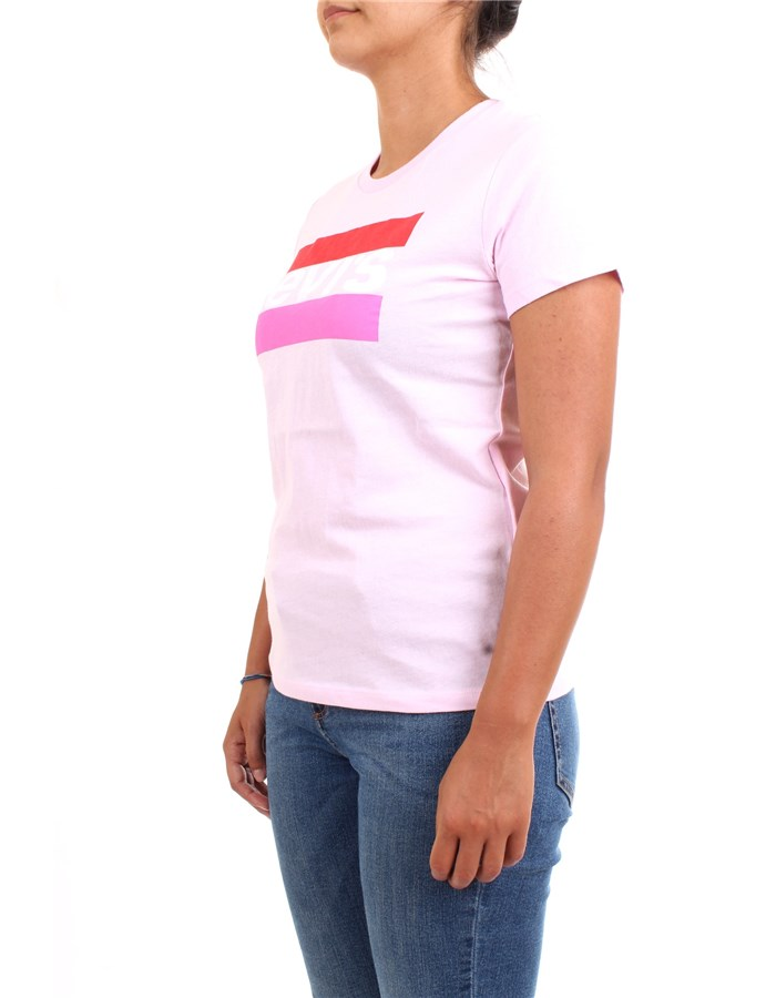 LEVI'S T-Shirt/Polo Pink Lady