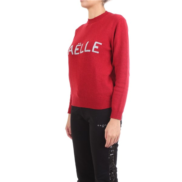 GAELLE PARIS Pullover Red