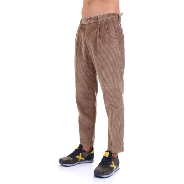 Officina36 Trousers Beige