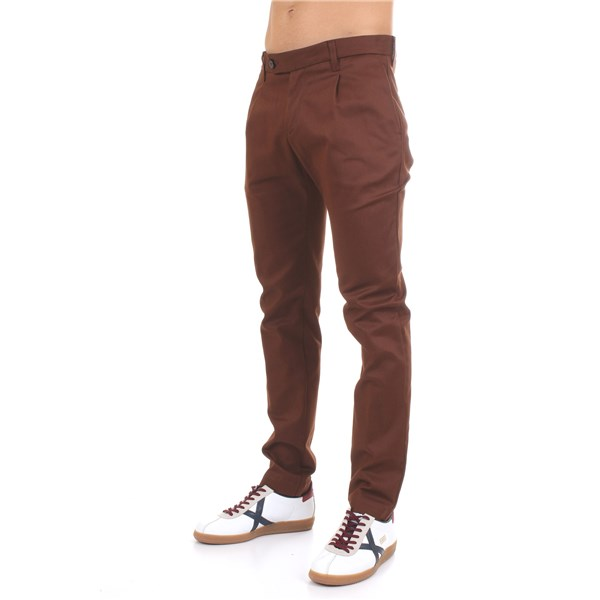 Officina36 Trousers Brown