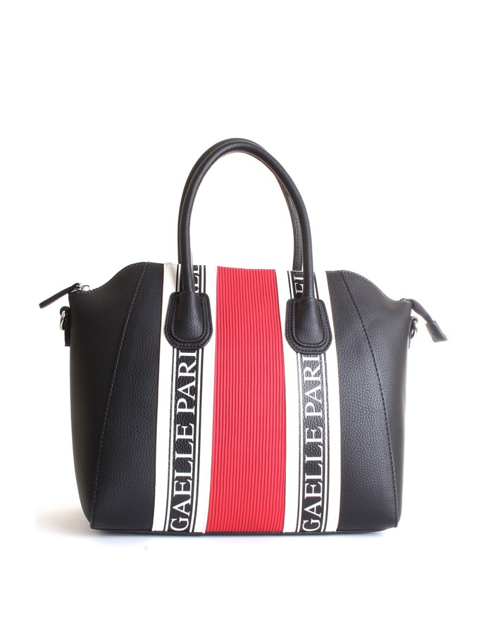 GAELLE PARIS Bowling bag  Black