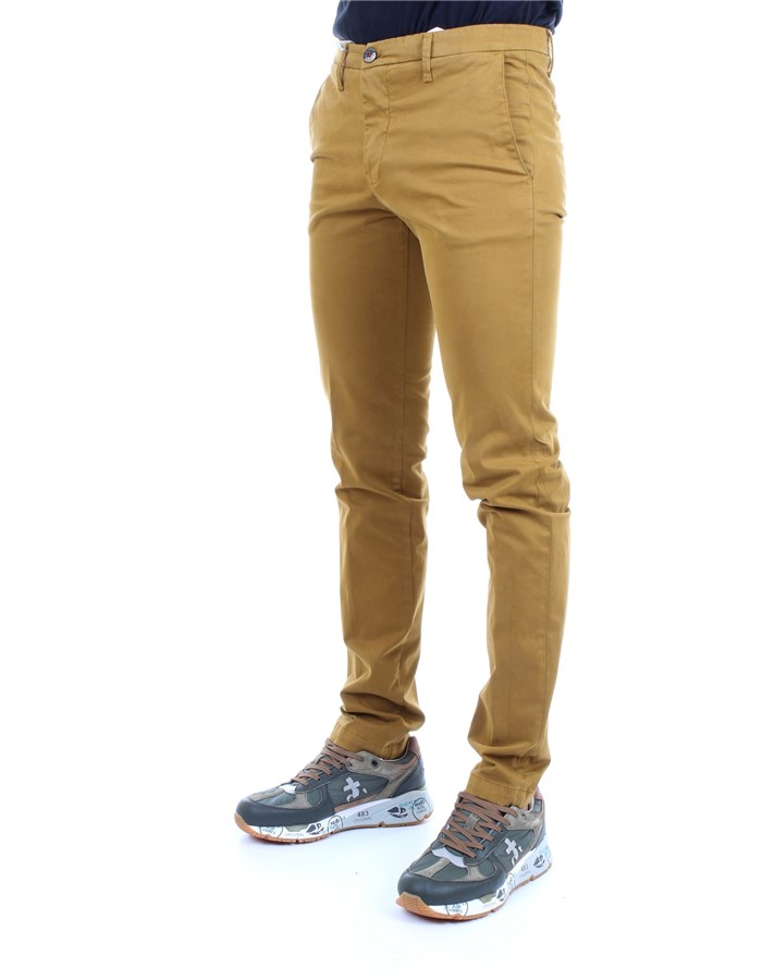 MANUEL RITZ Trousers Ochre