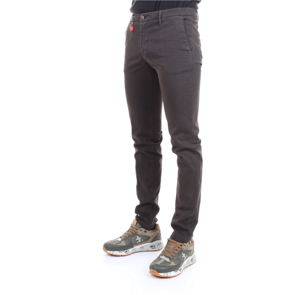 MANUEL RITZ Trousers Dark gray