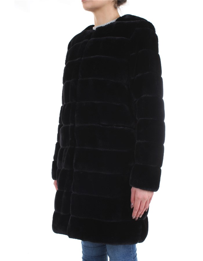 Meheran Overcoat Black
