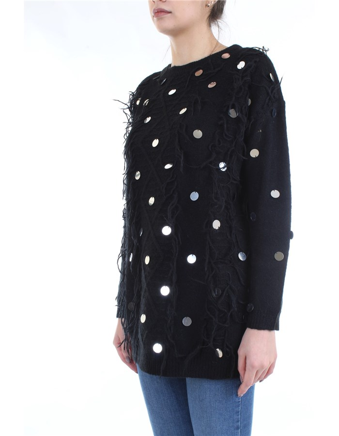 LE COEUR TWINSET Sweater Black