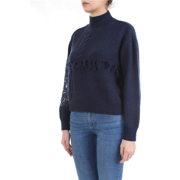 LE COEUR TWINSET Sweater Blue