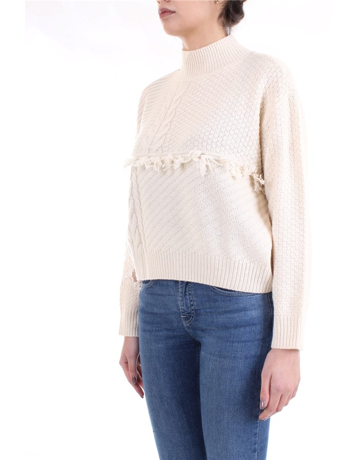 LE COEUR TWINSET Sweater Milk