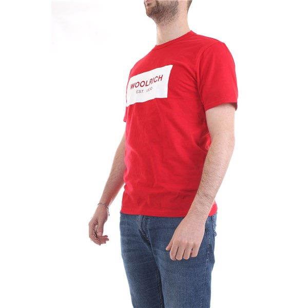 WOOLRICH T-Shirt/Polo Red