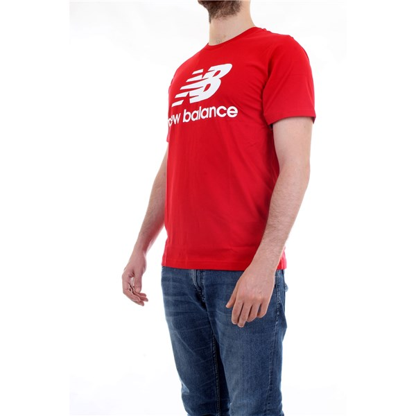NEW BALANCE T-Shirt/Polo Red