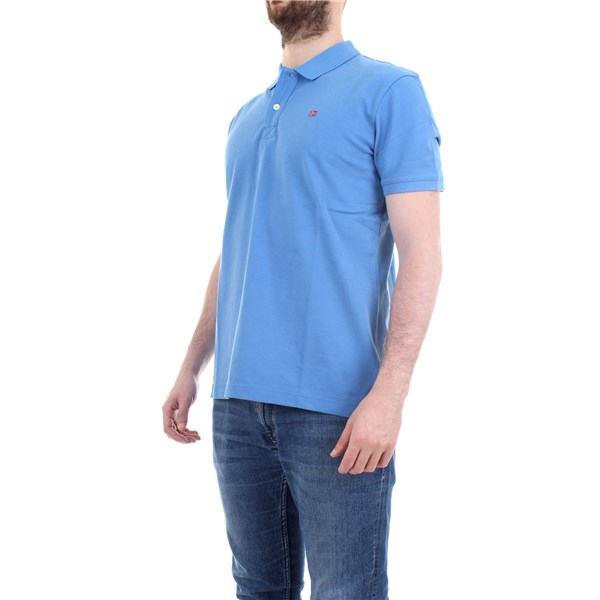 NAPAPIJRI Polo shirt Light blue