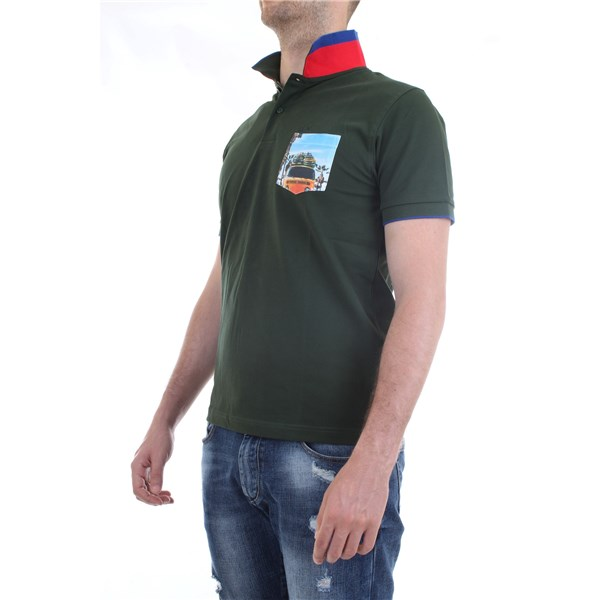 SUN68 Polo shirt Green