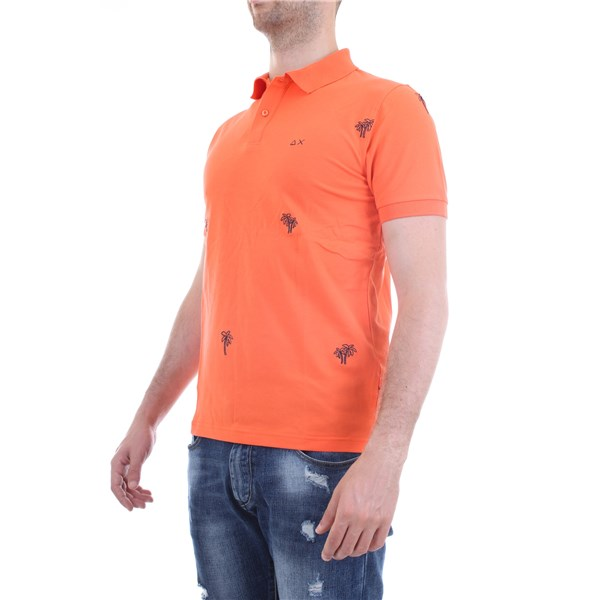 SUN68 Polo shirt Orange