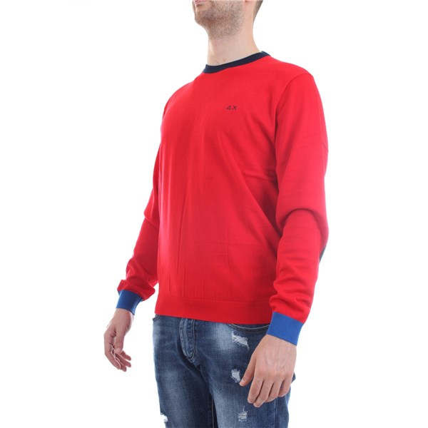 SUN68 Pullover Red