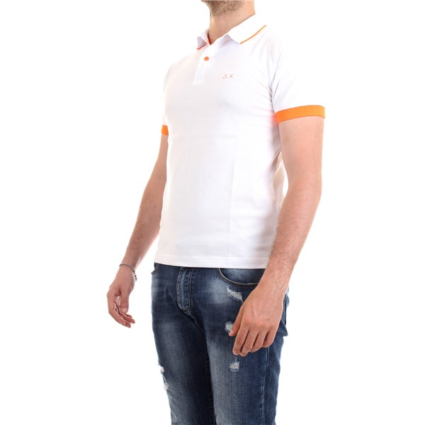 SUN68 Polo shirt White