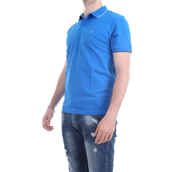 SUN68 Polo shirt Royal
