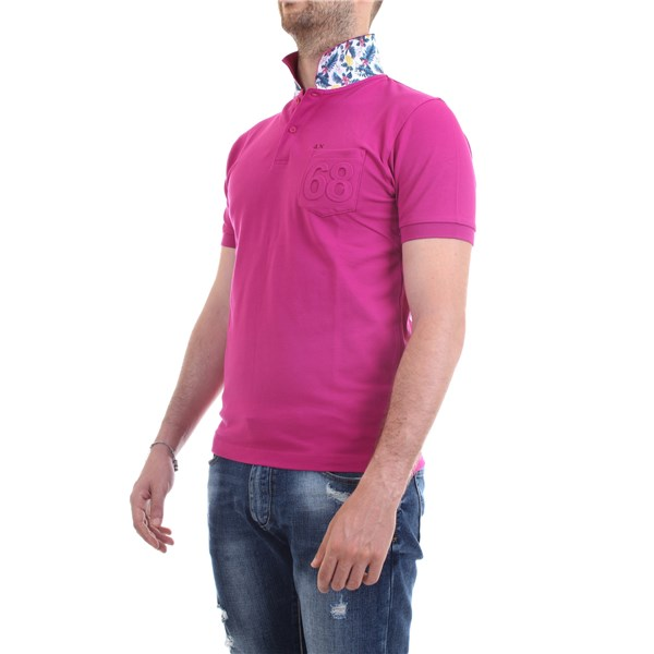 SUN68 Polo shirt Fuchsia