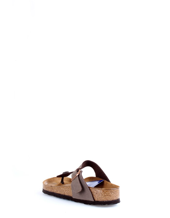 BIRKENSTOCK Slippers Brown