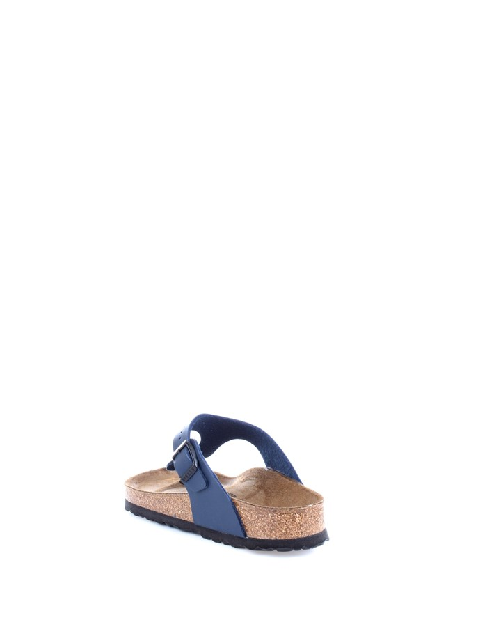 BIRKENSTOCK Slippers Blue