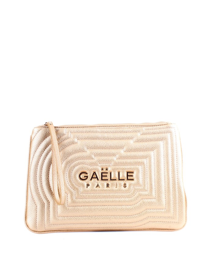 GAELLE PARIS Wrist bag  Gold