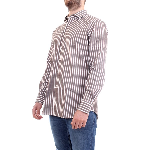 XACUS Shirt Brown