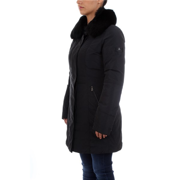 PEUTEREY Overcoat Black