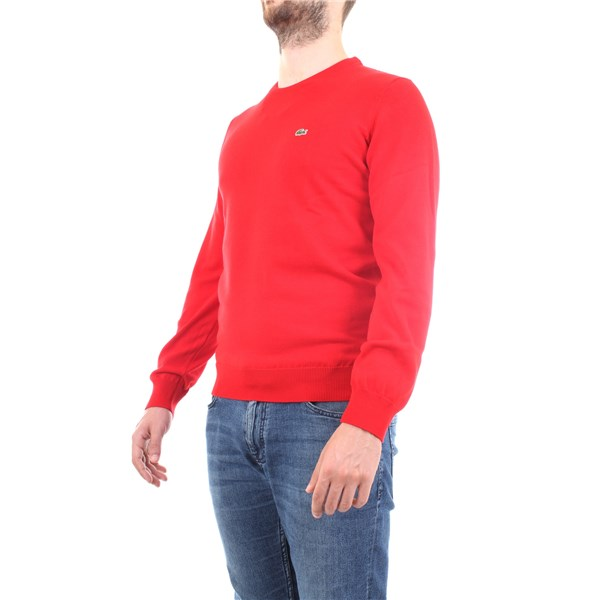 Lacoste Sweater Red