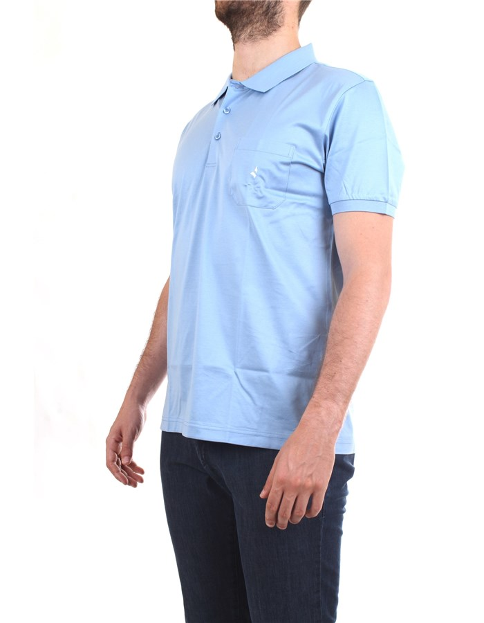 NAVIGARE Polo shirt Light blue