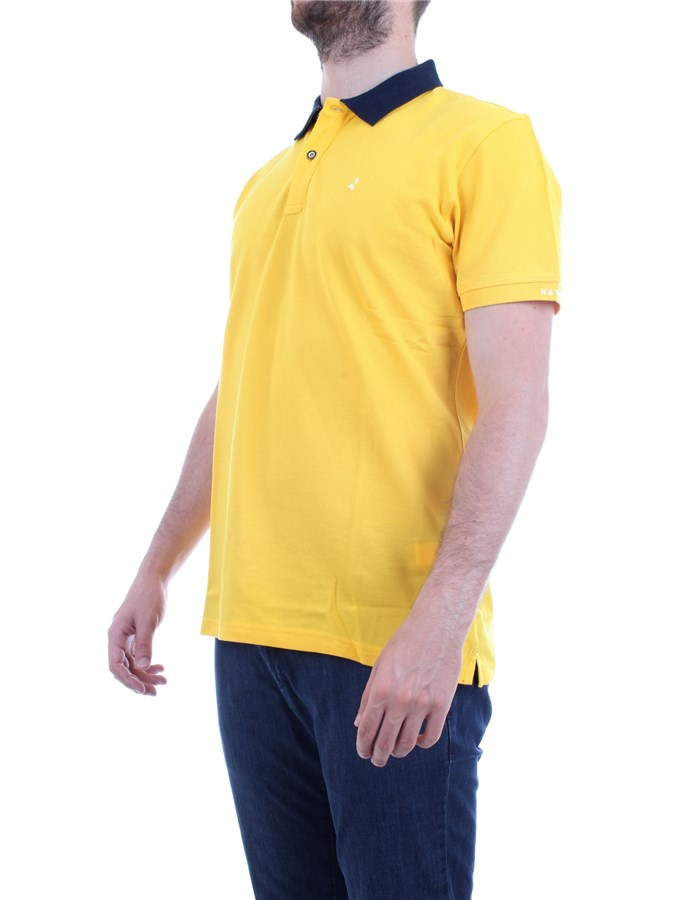 NAVIGARE Polo shirt Yellow