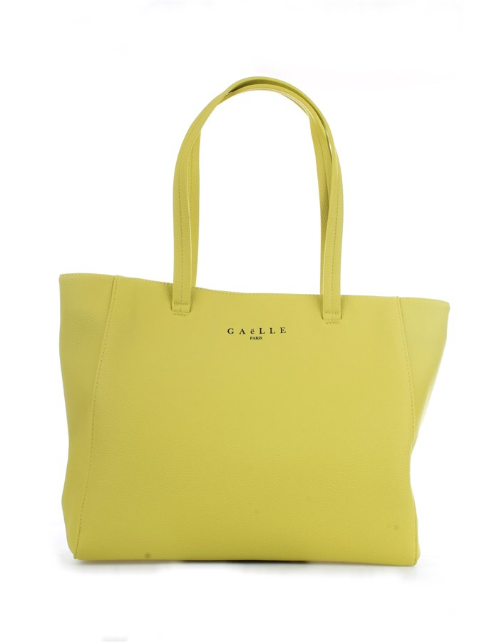 GAELLE PARIS Shopper Yellow