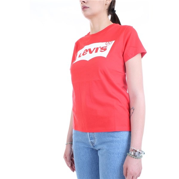LEVI'S T-Shirt/Polo Red