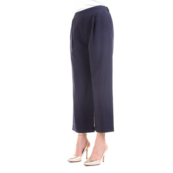 LANACAPRINA Trousers Blue