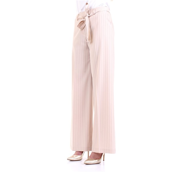 LANACAPRINA Trousers Milk