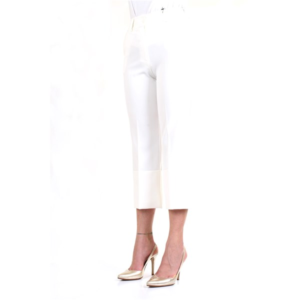 LANACAPRINA Trousers White
