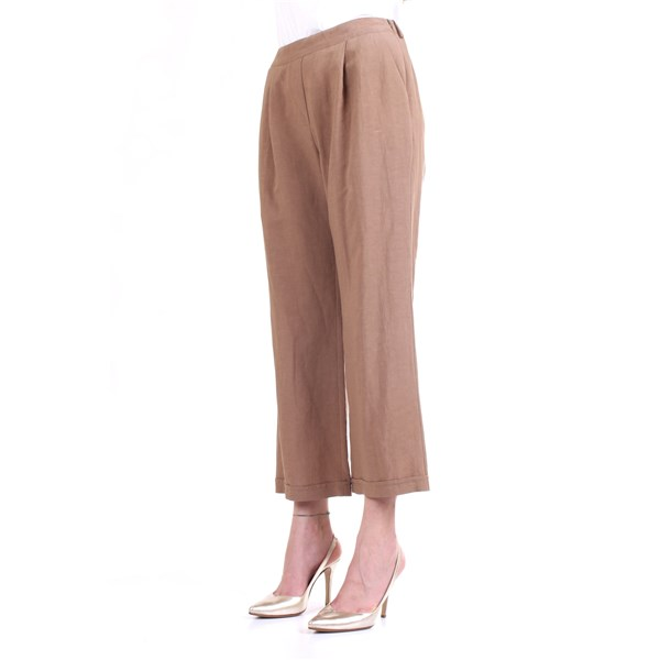 LANACAPRINA Trousers Leather