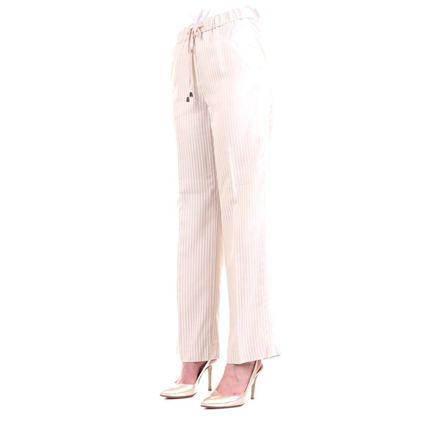 Cappellini By Peserico Trousers Beige