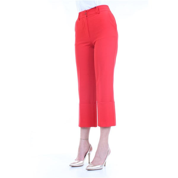 LANACAPRINA Trousers Red