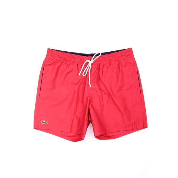 Lacoste Swimsuit Red
