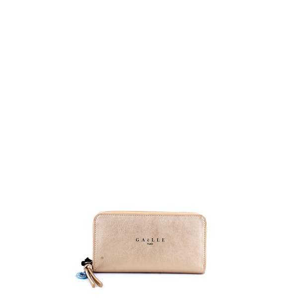 GAELLE PARIS Wallet Gold