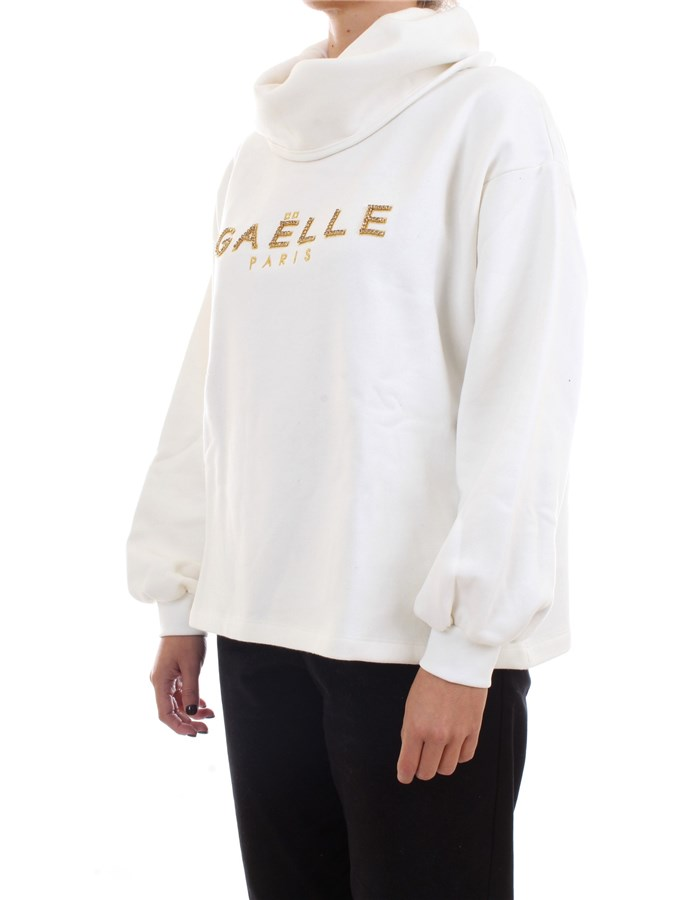 GAELLE PARIS Sweater White
