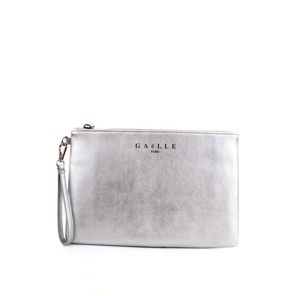 GAELLE PARIS Clutch Silver