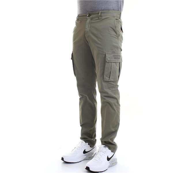 AERONAUTICA MILITARE Trousers Military green