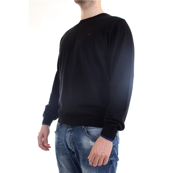 SUN68 Sweater Black