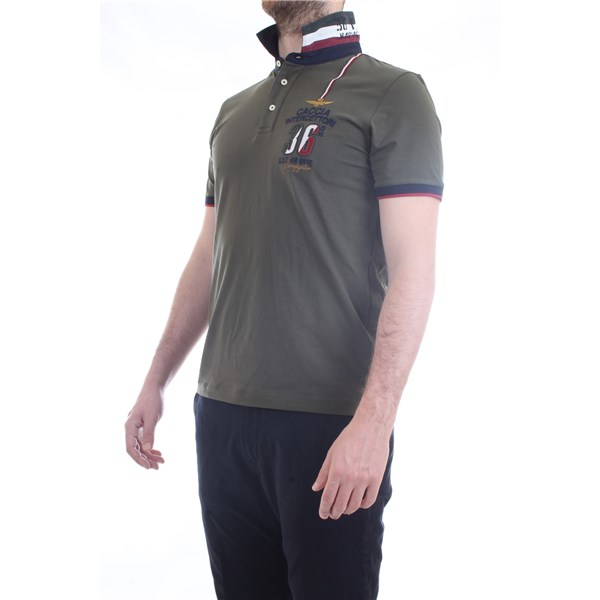 AERONAUTICA MILITARE Polo shirt Military green