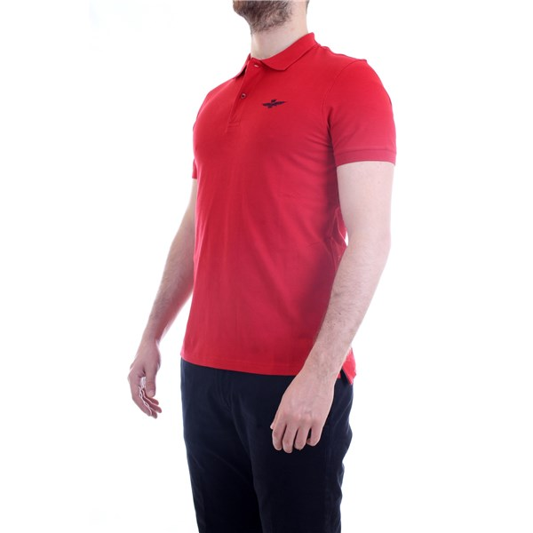 AERONAUTICA MILITARE Polo shirt Red