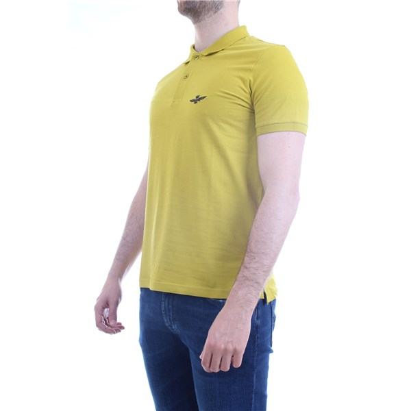 AERONAUTICA MILITARE Polo shirt Yellow