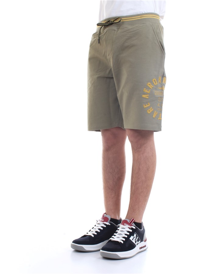AERONAUTICA MILITARE Shorts Military green