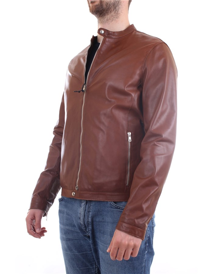 EMANUELE CURCI Jacket Leather