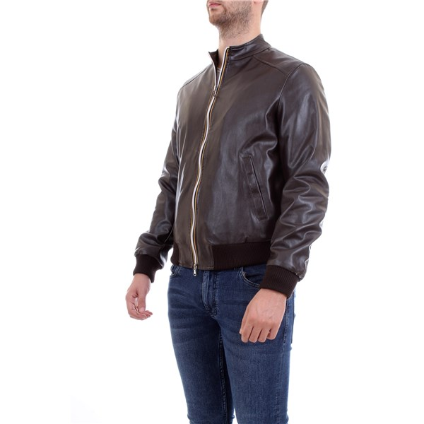 MANUEL RITZ Jacket Brown