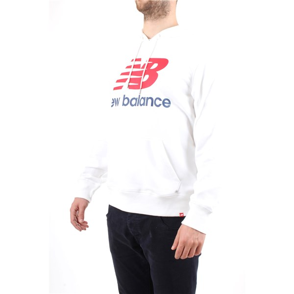 NEW BALANCE Sweater White