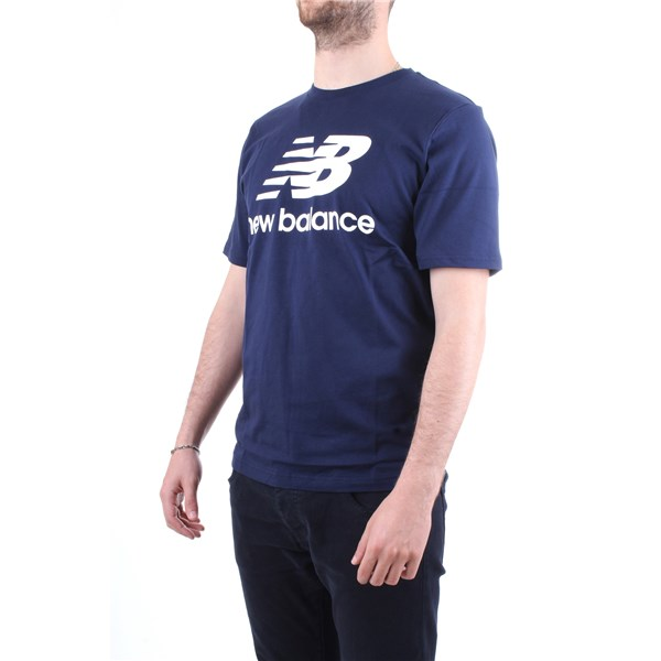 NEW BALANCE T-Shirt/Polo Blue